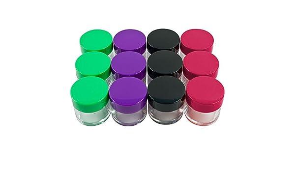 Amazon.com : Envases Vacios Para Cremas Cosmeticas - Envases Para Cosmeticos De 20 Gramos/20ML - Set De 12 Envases : Beauty