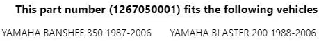 Mikuni Pilot Jet Application M28//1001 #17.5