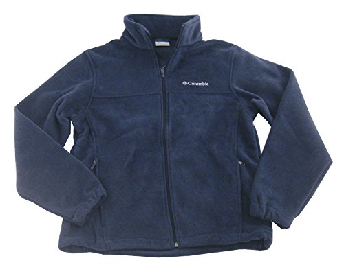 Columbia Men's Granite Mountain Fleece Jacket-Navy Blue-Medium