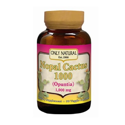 Only Natural Nopal Cactus 1000 90 Vcap