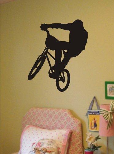 Cheap  BMX Biker Decal Sticker Wall Vinyl Bike Sports Children Boy Girl Cool