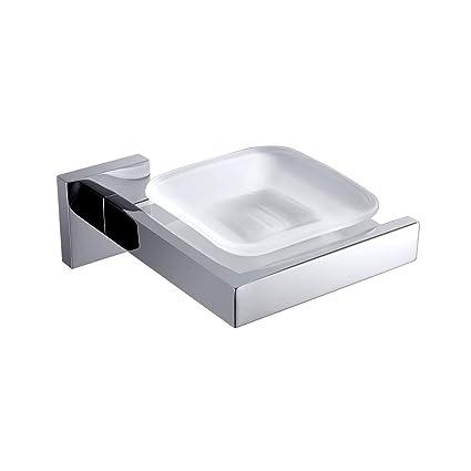 Turs jabón dispensador sus 304 acero inoxidable baño WC Jabonera cesta soporte mural montaje, acabado