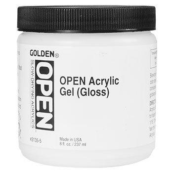 - 8 Oz Open Acrylic Gel Gloss