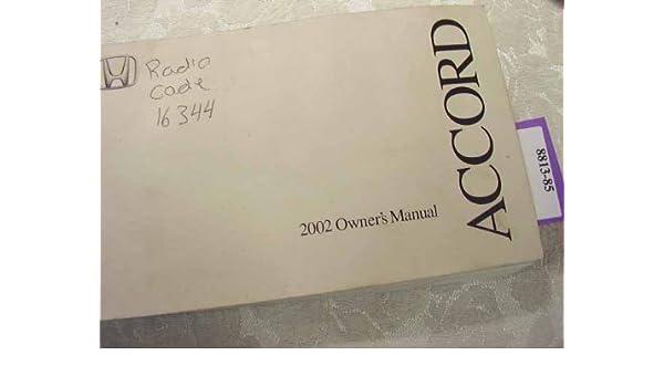 Honda accord owners manual | ebay.