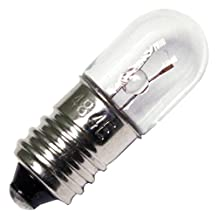 Eiko 48 T3-1/4 Miniature Screw Base Halogen Bulb, 2V/0.06 Amp