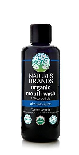 Herbal Mouthwash (Herbal Choice Mari Organic Mouth Wash, 1:10 Concentrate; 3.4oz)