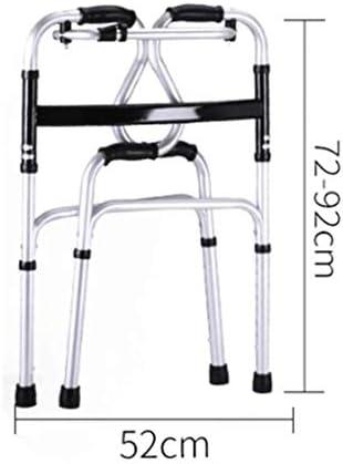 Gehhilfe, Verstellbare Höhe, Gehstock Für Alte Männer, Gehhilfe, Gehhilfe Für Behinderte, Armlehne, Gehhilfe, Alte Gehhilfe, Booster (Color : Silver)