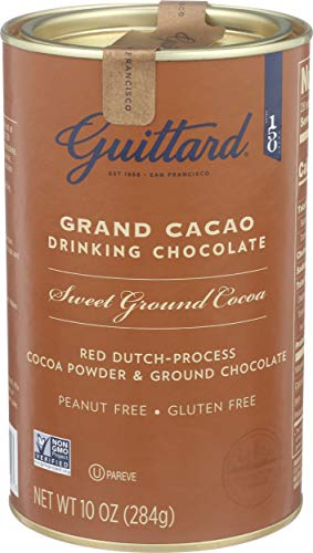 Guittard Chocolate Grand Cacao Drinking Chocolate, 10 oz