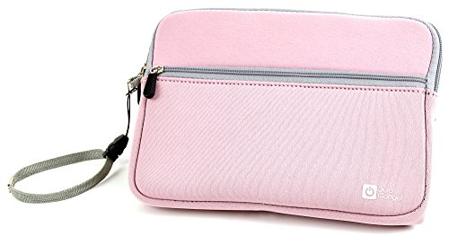 duragadget-water-resistant-pink-protective-soft-case-with-front-storage-pocket-for-the-new-sylvania-