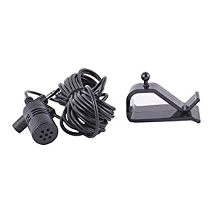 ALPINE CDE-125BT CDE-126BT CDE-133BT CDE-135BT CDE-136BT CDE-143BT CDE-147BT CDE-153BT CDE-154BT OEM GENUINE MICROPHONE WITH CLIP PLUS WORKS WITH 22 OTHER MODELS SEE DESCRIPTION