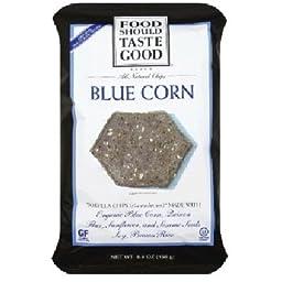 Food Should Taste Good Chip Tortla Blue Corn
