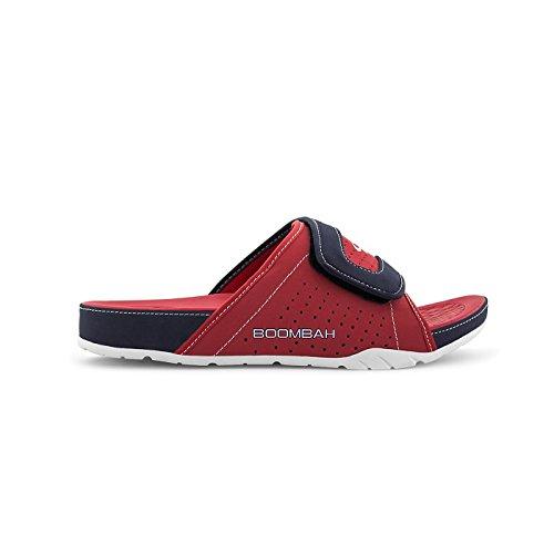 Sandali Da Slittino Tiranno Da Uomo Boombah - 32 Opzioni Di Colore - Più Taglie Rosso / Blu Scuro