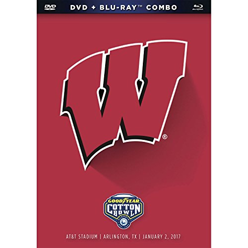 2016-17 Wisconsin Cfp Cotton Bowl DVD and BD Combo