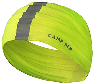 CAMP BEN (TM) Loop Bandana - Sports Reflective Gear - Running, Walking the Dog, Hunting, Motorcyclists and Cyclists