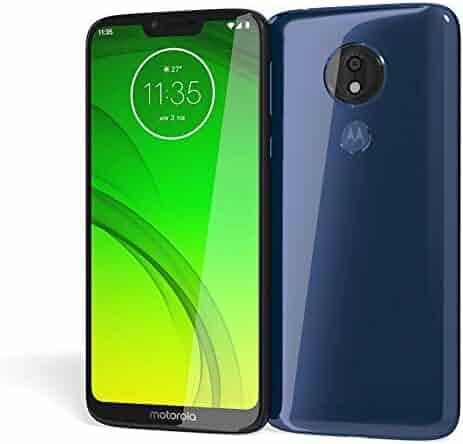 Moto G7 Power - Unlocked - 64 GB - Marine Blue (No Warranty) - International Model (GSM Only)