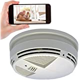 Spy-Max SG Home Down View Smoke Detector Hidden Camera w/Night Vision & WiFi Cloud Video Recording