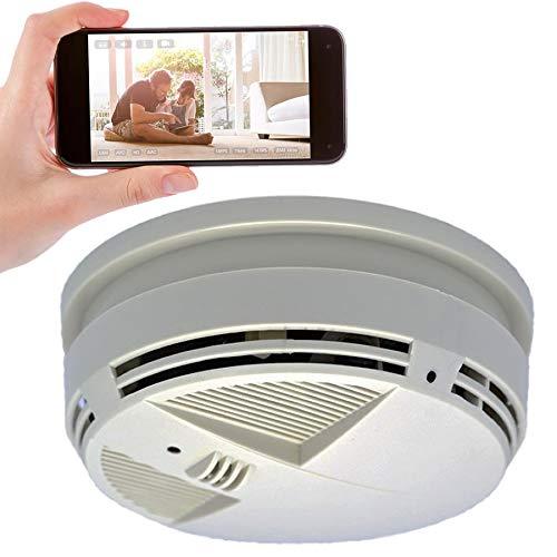 Spy-Max SG Home Down View Smoke Detector Hidden Camera w/Night Vision & WiFi Cloud Video Recording