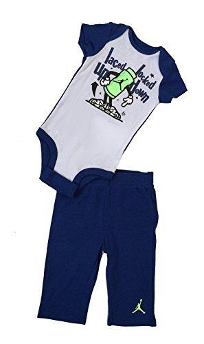 90855eb0c0d6e0 Galleon - Nike Jordan Infant New Born Baby Layette Set (0 3M)