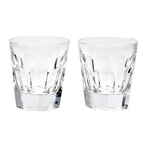 (Baccarat Crystal 2810591 Harcourt Old Fashion Tumbler Set of)