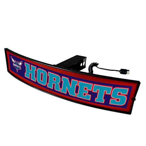 CC Sports Decor NBA - Charlotte Hornets Light Up Hitch Cover - 21''x9.5'' by CC Sports Decor