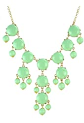 Jane Stone Bubble Beads Y-Necklace Fashion Jewelry Statement Necklace(Fn0584)