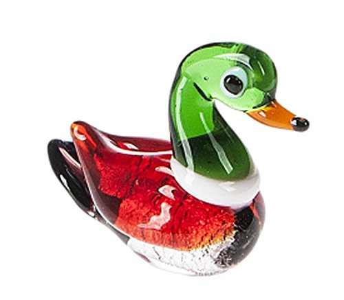 - Miniature Glass Mallard Figure - By Ganz