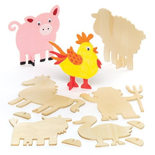 wood animal kit - 7