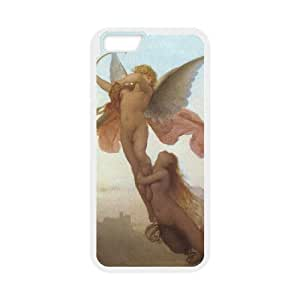 Diy Cupid Cherub Pattern Customized for iphone 6 (4.7 inch) White Back Cover Phone Case