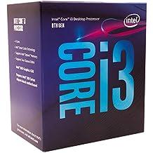 Processador Intel Core i3 8100, Cache 6MB, 3.6GHz, LGA 1151, Intel UHD Graphics 630 - BX80684I38100