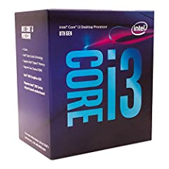 Prepare to be amazed with the 8th Generation Intel Core Desktop Processor family. The 8th Generation Intel Core i3-8100 comes with 4 processing Cores and 4 Threads. That's 2 additional Cores versus the previous generation for more processing ...