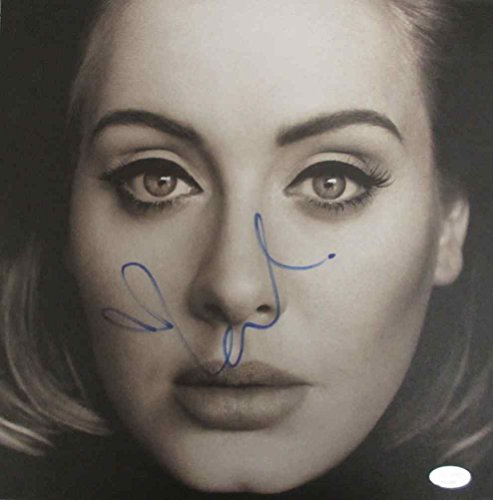 Adele Signed Record Album LP Certified Authentic PSA/DNA -