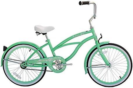 Micargi Jetta, Mint Green – Girls 20 Beach Cruiser Bike