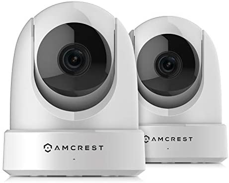 2-Pack Amcrest 4MP UltraHD Indoor WiFi Camera