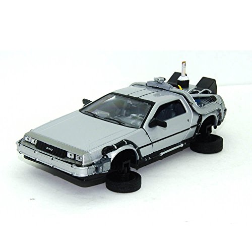 De Lorean DMC 12 Flying version Diecast Model Car from Back To The Future Part 2