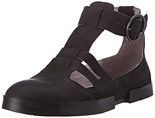 Fly London Women Edan275Fly, Sandalias al Tobillo Mujer Negro (Blackblack)