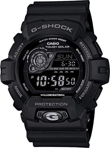 Casio Men's GR8900A-1 G-Shock Tough Solar Digital Black for sale  Delivered anywhere in USA