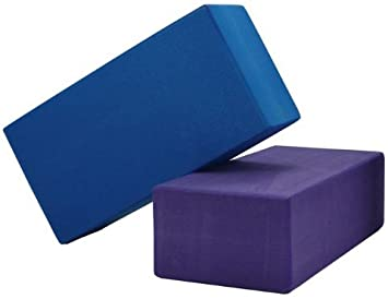 Amazon.com: 1 ladrillo de yoga de alta densidad color morado ...