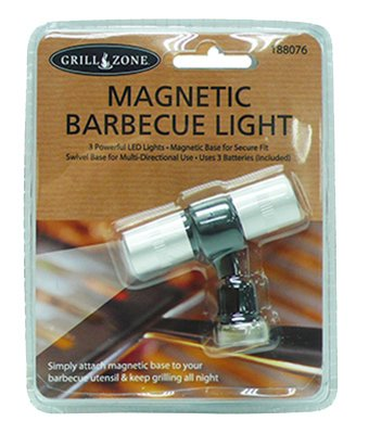 GZ 00383TV LED Grill Light, Magnetic - Quantity 6 by G'z