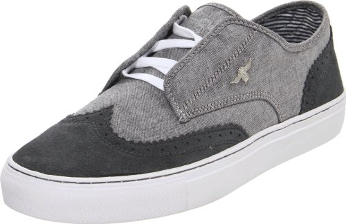 Creative Recreation Men's Defeo Fashion Sneaker,Grey/Chambray/Smoke,8 M US