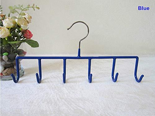 Tyro Multifunctional PVC Coated Metal Hangers for Handbag and Bag (10 Pieces/Lot)