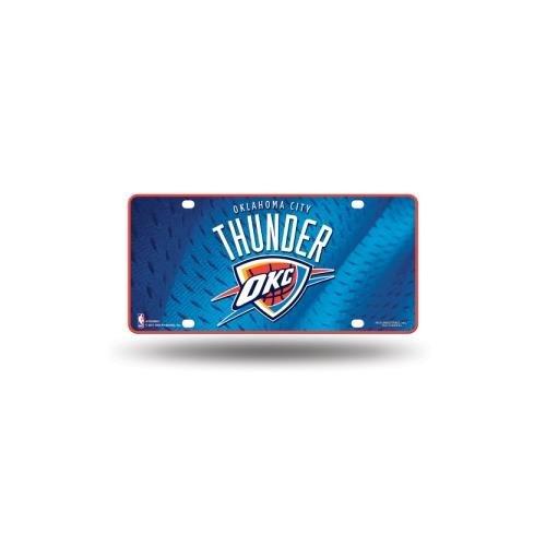 NBA Oklahoma City Thunder Metal License Plate Tag