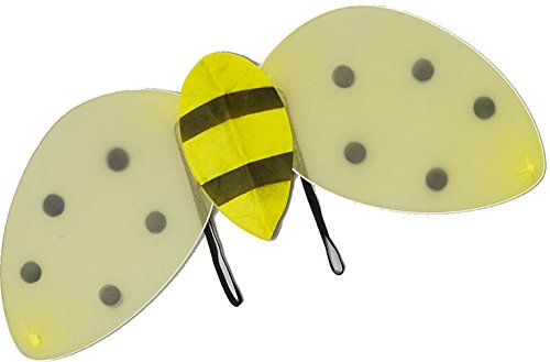 Wenchoice Yellow & Black Bumblebee Wings One-Size - Bumble Bee Wings