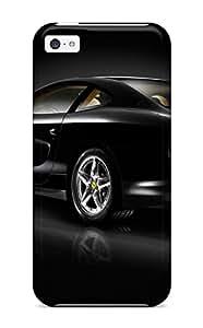 New Design Shatterproof XOMkbXq3581Ntwsh Case For Iphone 5c (black Ferrari Background)