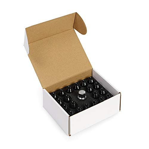 M12 x 1.5 Mishimoto Rockstar Aluminum Locking Lug Nuts Black MMLG-15-LOCKRKST