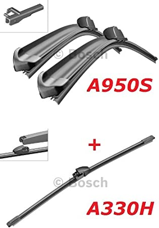 Bosch Scheibenwischer Front Und Heckwischer Aerotwin A950s Längen 700 700mm 3397118950 A330h Länge 330mm 3397008006 Auto