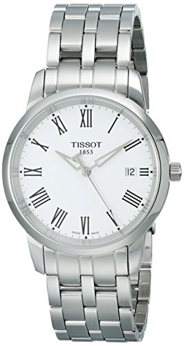 Tissot Men's T0334101101300 Dream White Dial Watch