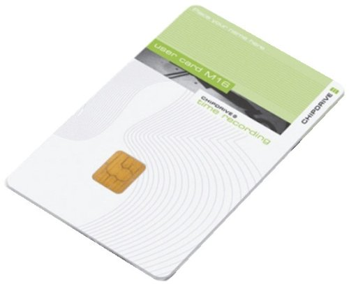 Scm Chipdrive User Card M16   Security Smart Card  Packung Mit 5     F R Chipdrive Time Recording Device