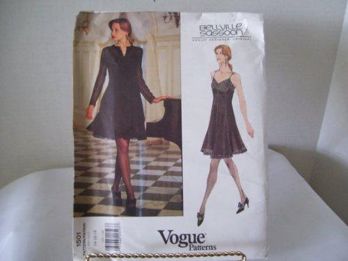 uncut-oop-vogue-american-designers-1501-bellville-sassoon-misses-dresses-sewing-pattern-sizes-14-16-