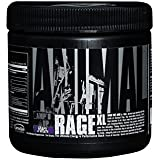 Universal Nutrition Animal Rage XL Pre Workout Ultimate Energy and Performance Stack, Grape of Wrath, 30 Count, 154 grams