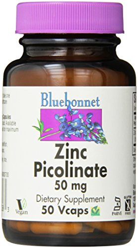 BlueBonnet Picolinate Vegetarian Capsules Count product image